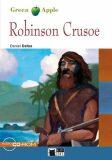 Robinson Crusoe + CD (Green Apple) - Daniel Defoe