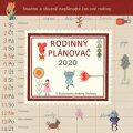 Rodinný plánovač - nástěnný kalendář 2020 - Andrea Tachezy