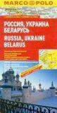 Rusko, Ukrajina, Bělorusko/mapa 1:2M MD - Marco Polo