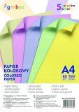 Sada barevných papírů A4 80 g/m2, 100 listů, mix pastelových barev - neuveden