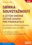 ANAG Sbírka souvztažností k účtům směrné účtové osnovy pro podnikatele se vzorovou účtovou osnovou s opravami pro rok 2021 - Jaroslav Jindrák
