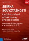 Sbírka souvztažností k účtům směrné účtové osnovy se vzorovou účtovou osnovou - Jaroslav Jindrák