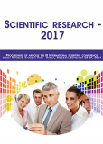 Scientific research - 2017 - vědecký sborník