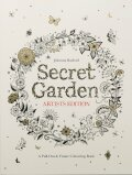 Secret Garden Artist's Edition: A Pull-Out and Frame Colouring Book - Johanna Basfordová