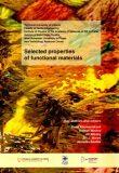 Selected properties of functional materials - Jiří Militký, ...