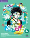 Shape It! 4 Full Combo Student´s Book and Workbook with Practice Extra - Samantha Lewis, Vincent Daniel