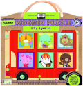 Silly Squares Chunky Wooden Puzzle - Innovative Kids