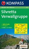 SILVRETTA VERWALLGRUPPE 1:50 000 - KOMPASS-Karten GmbH