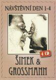 Šimek & Grossmann - Návštěvní den (1- 4) - 4CD - Miloslav Šimek, ...