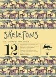 Skeletons (Gift Wrapping Paper Book) - Pepin van Roojen