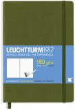 Skicář LEUCHTTURM1917 (zelený) - Zoner Press
