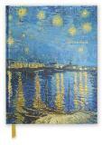 Skicář Van Gogh: Starry Night (Blank Sketch Book) - Flame Tree Publishing