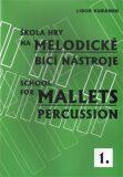 Škola hry na melodické bicí nástroje / School for Mallets Percussion 1 - Libor Kubánek