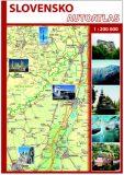 Slovensko Autoatlas 1 : 200 000 - Mapa Slovakia