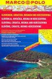 Slovinsko/Chorvatsko / atlas-spirála 1:300T MD - Marco Polo