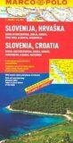 Slovinsko/Chorvatsko mapa - Marco Polo