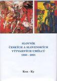 Slovník českých a slovenských výtvarných umělců 1950 - 2001 6. díl (Kon-Ky) - Chagall - výtvarné centrum