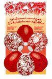 Smršťovací dekorace na vejce červené 10ks - Anděl Přerov
