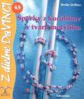 Šperky z korálikov v tvare motýlika - Heike Delhez
