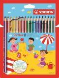 STABILO Trio silné pastelky 18 ks - STABILO