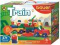 Stavebnice BAUER: Train Vláčky 271 dílů - Bauer