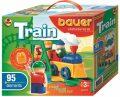 Stavebnice BAUER: Train Vláčky   95 dílů - Bauer