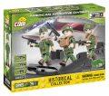 Cobi 2033 SMALL ARMY – 3 figurky s doplňky Americká letecká divize, 26 k - neuveden