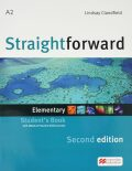 Straightforward 2nd Edition Elementary: Student´s Book + eBook - Lindsay Clandfield