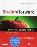 Straightforward 2nd Edition Intermediate: Student´s Book + eBook - Philip Kerr,  Roy Norris, ...