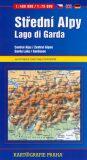 Střední Alpy/Lago di Garda (automapa) 1:400 000 / 1:75 000 - Kartografie PRAHA