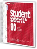 Student blok A5 80 listů čtver.spirálový - KANORG