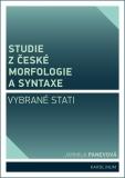 Studie z české morfologie a syntaxe - Jarmila Panevová