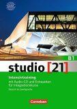 Studio 21 B1 Intensivtraining mit Audio-CD und Extraseiten für Integrationskurse, Gesamtband - Hermann Funk