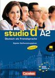 Studio d A2 Deutsch als Fremdsprache: Digitaler Stoffverteilungsplaner CD-ROM - Hermann Funk