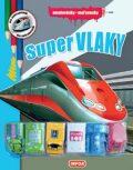 Omalovánky / Maľovanky - Super vlaky (CZ/SK vydanie) - INFOA