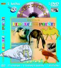 Svět zvířat - Zvířátka na ledovci a na poušti (kniha omalovánek s DVD) - KM Records