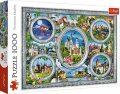 Světové zámky: Puzzle/1000 dílků - neuveden