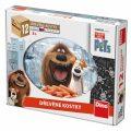 Tajný život mazlíčků - dřevěné kostky 12 kostek - Universal Studios