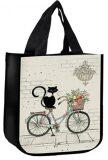 Taška BUG ART KIUB - Kočka na kole - Papery