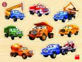 Tatra - dřevěná vkládačka 8 dílků - Dino Toys