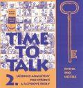 Time to Talk 2. Kniha pro učitele - Tomáš Gráf, Sarah Peters