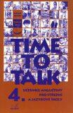Time to talk 4 - kniha pro studenty - Tomáš Gráf, Sarah Peters