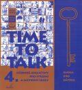 Time to talk 4 - kniha pro učitele - Tomáš Gráf, Sarah Peters
