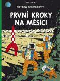 Tintinova dobrodružství První kroky na Měsíci - Herge