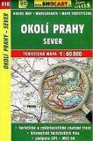 Okolí Prahy - sever 1:40 000 - SHOCART