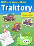 Traktory Kniha so samolepkami -