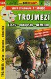 Trojmezí Česko - Rakousko - Německo cyklomapa 1:50 000 -