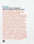 Twenty-Two Tips on Typography - Enric Jardí