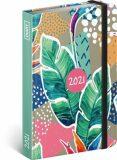Týdenní diář Listy 2021, 11 × 16 cm - Presco Group