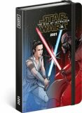 Týdenní diář Star Wars – Battle 2021, 11 × 16 cm - Presco Group